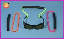 ** 3 Neon Floating Sun Glasses Savers Cord SunGlasses EyeGlasses Neck Strap **