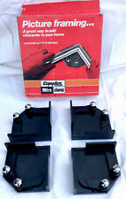 Vintage Copydex Mitre Clamps Set Of 4 Picture Framing Cramps Made In England Vgc