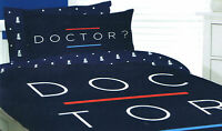 DOCTOR WHO ? Queen Bed QUILT DOONA DUVET COVER Pillows Adults Kids 210 x 210