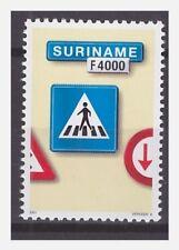 Surinam / Suriname 2001 Trafficsign 8 roadsign verkehrsschild MNH