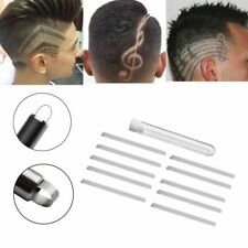 10Pcs Engraving Shaver Pen Blades Salon Alloy Scraper Tattoo Hair Styling Tool