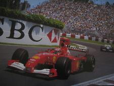 Poster Marlboro Ferrari F2001 2001 #1 Michael Schumacher (GER) Montreal