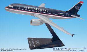Flight Miniatures USAir US Airways 1997 Airbus A319-100 1:200 Scale REG#N700UW