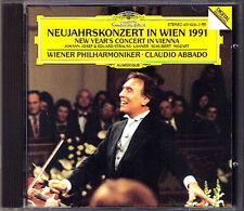 New Year's Concert from Vienna 1991 Claudio ABBADO CD Neujahrskonzert aus Wien