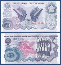 JUGOSLAWIEN / YUGOSLAVIA 50 Dinara 1990 UNC  P.101