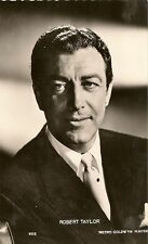 CARTE POSTALE PHOTO CELEBRITE ACTEUR ROBERT TAYLOR