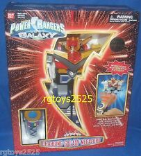 Power Rangers Lost Galaxy Deluxe Charging Galaxy Megazord New w Morpher Control