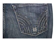 Ladies Taverniti So Manon Dark Distressed Dark Wash Flare Jeans Size 26 LN