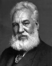 Inventor ALEXANDER GRAHAM BELL Glossy 8x10 Photo Print Portrait Photograph