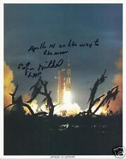 EDGAR MITCHELL APOLLO 14 SIGNED 8x10 NASA PHOTO - UACC RD ASTRONAUT AUTOGRAPH
