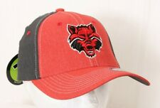 new arrivals e0710 bf832 NEW Arkansas State University Red Wolves Zephyr Cap Stretch Fit Baseball Hat  M L