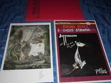 COMIC Buch / Album + DRUCK , limitiert + signiert , U-COMIX , Miasma Blues , 2.