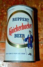 Ruppert Knickerbocker 2 panel Flat Top Beer Can