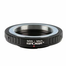 K&F Concept Adapter for Leica M39 Mount Lens to Micro 4/3 M4/3 Olympus Panasonic