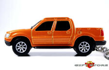 RARE KEY CHAIN ORANGE FROST FORD EXPLORER SPORT TRAC TRUCK TRACK 4X4 NEW LIMITED
