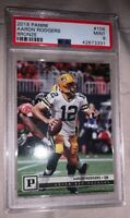 2018 Panini Bronze Knight #106 Aaron Rodgers PSA 9 Mint Green Bay Packers HOF ?
