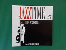 CD BEN WEBSTER  JAZZ TIME FABBRI 53  NUOVISSIMO