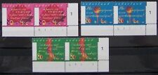 Ned. - Serie paren Zomerzegels 1997 postfris met Etsingnrs.