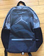 New NIKE AIR JORDAN Jumpman Backpack School Bag Laptop Cool Gray 9A1836-K26