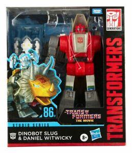 Hasbro Transformers Studio Series Leader Class Dinobot Slug & Daniel Witwicky