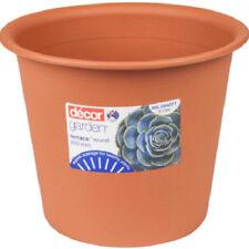 Round Terracotta Flower & Plant Pots Boxes