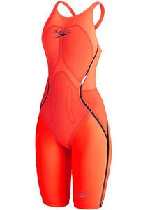 Speedo Fastskin LZR Racer X Open Back Kneeskin Swimsuit Size 20 UK rrp £364.99