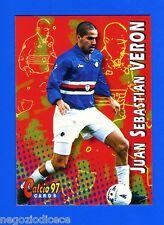 CALCIO CARDS 97 - Panini - Figurina-Sticker n. 200 - VERON - SAMPDORIA