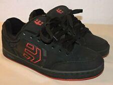 Etnies Mens Shoes Size 7 US Metal Mulisha Swivel, Black and Red Skateboard