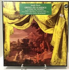 Haydn Orfeo Ed Euridice Vienna State Opera Orch Swarowsky 3LP BOX Vox OPBX 193