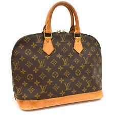 Auth LOUIS VUITTON Monogram Alma M51130 Hand Bag Brown Canvas AB10001