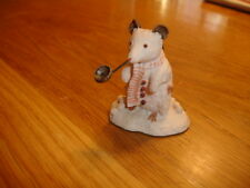 BORDER FINE ARTS BRAMBLY HEDGE    THE SNOW MOUSE    BH18     MADE IN UK
