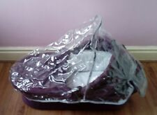 iCandy Cherry B Carrycot, Hood, Mattress and Raincover, Mulberry