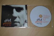 Dave Gahan - I need you. CD-Single (CP1708)