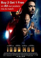 Iron Man 2008 Movie Poster A5 A4 A3 A2 A1