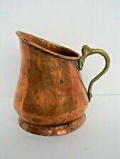 Copper Pot Pitcher Hand Forged 7