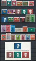 Allemagne RFA - Année 1968 Neuf** (MNH) Compléte