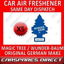 MAGIC TREE CAR AIR FRESHENER x 5 NEW CAR ORIGINAL & BEST WUNDER-BAUM NEW