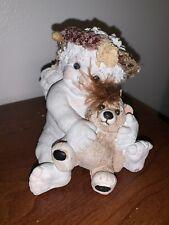 Dreamsicles Figurine 1991 Signed Cherub With A Teddy Bear