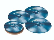 Paiste Color Sound 900 Blue 6 Pc Universal Cymbal Set/Free Cymbal Bag-Sticks/New