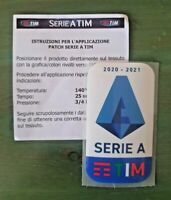 patch toppa badge logo SERIE A TIM 2021 2020 TOPPA LEGA CALCIO 2020/21 nuova