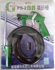 GREEN Air Sandblasting Gun Kit Pneumatic Sandblaster Spray Gun Tool