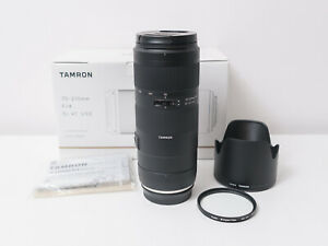 Tamron 70-210mm F4 Di VC USD Full-frame Lens for Canon EF ~As New Condition