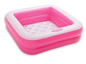 Intex 0775035 Play Box Piscine pour Bébés Vinyle -1 unité 85 x 85 x 23 cm -