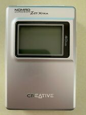 Creative Nomad Jukebox Zen Xtra Silver (40GB) Digital Media Player