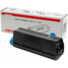 OKI 42127407 TONER ORIGINALE CIANO ALTA CAPACITA' Tipo C6 C5100/C5200/C5300