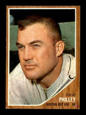 1962 Topps #542 Dave Philley  NM/NM+ X1511029