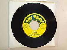 """CRYSTAL GARDEN: Flash 3:45-Peach Fuzz Forest 3:55-U.S. 7"""" 1969 Bay Town BTO11s"""