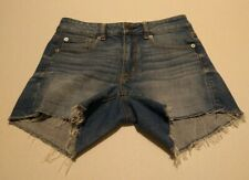 American Eagle Womens US Size 6 Stretch Blue Shorts Shortie RN 54485