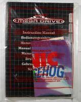Sega MegaDrive Console Manual / Book Mega Drive