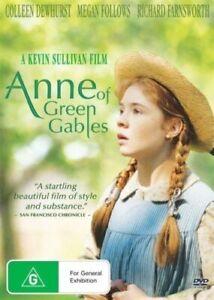 ANNE OF GREEN GABLES DVD 1985 New & Sealed Region 4 Megan Follows RARE TV